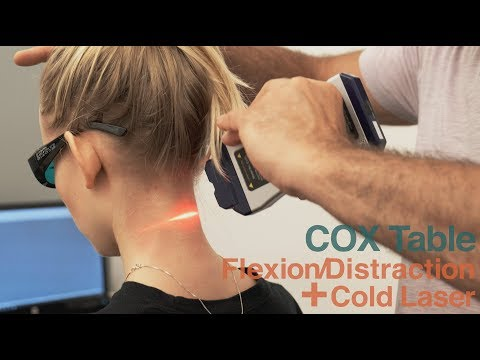 Cox Flexion Distraction With EVRL Cold Laser Therapy