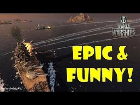 World of Warships Epic & Funny Moments Revenge