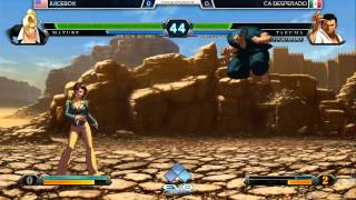 EVO2015 KOFXIII Side Tournament - Juicebox vs CA Desperado
