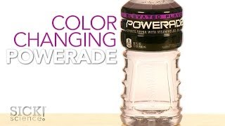 Color Changing Powerade