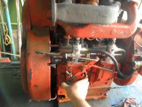 Diesel Engine Working >> Motor Petter PH2 - YouTube