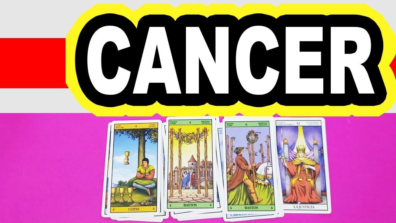 CANCER CAMBIO ABRUPTO DE  ALGUEI! VIVIRÁS EL AMOR VERDADERO DE TU DESTINO…