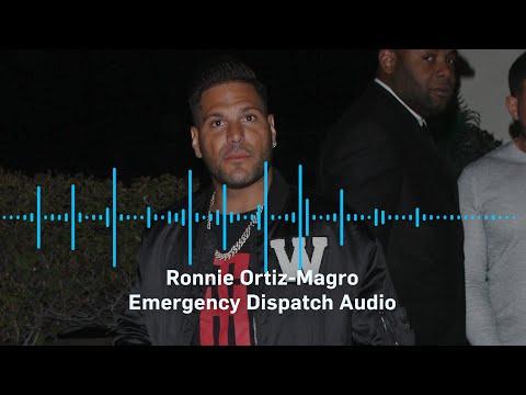 Ronnie Ortiz-Magro Emergency Dispatch Audio: Hear The Insane LAPD Audio