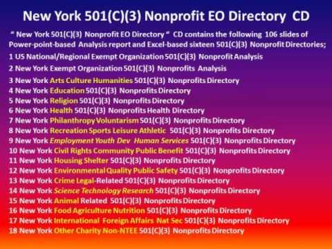 Introducing New York 501(c)(3) Nonprofit EO