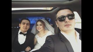 Məşhur azərbaycanlı aparıcı evləndi - TOYDAN GÖRÜNTÜLƏR