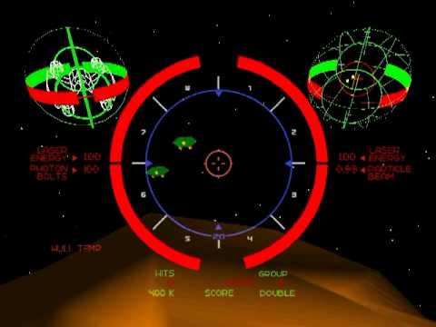 The Last Starfighter Fan-made Game (1984 Lorimar/2006 Centur