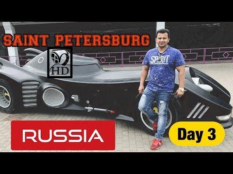 SAINT PETERSBURG DAY 3 ( RUSSIA 🇷🇺 ) PART 1