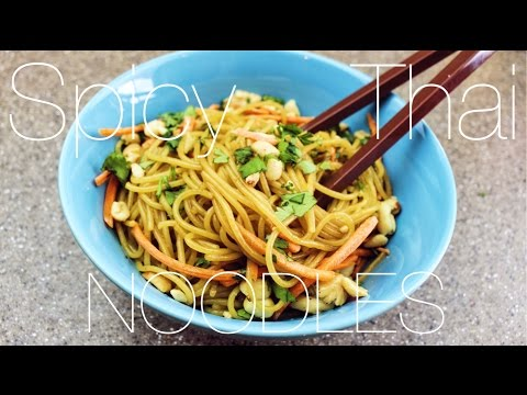 Spicy Thai Noodles (recipe included)
