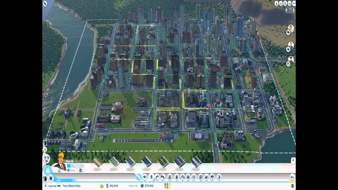 simcity 2013 big city low traffic congetstion improved version rh youtube com simcity 2013 starting guide SimCity 2013 Strategy Guide