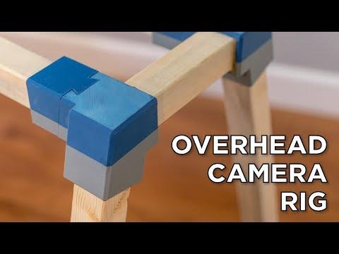 3D Printed Overhead Camera Rig