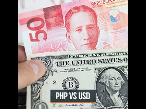 Philippine Peso Plummets To P54 Vs $1