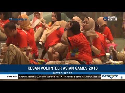 Kelas Dunia ! Ribuan Relawan Asian Games 2018 Dipuji Oleh Atlet Asia