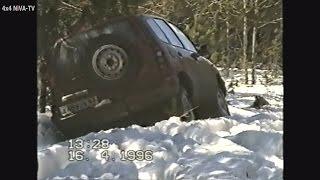 Читаем описание: Первые заводские снежные испытания ВАЗ-2123