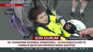 Vodafone İstanbul Maratonu'nun en uzun CANLI YAYINI