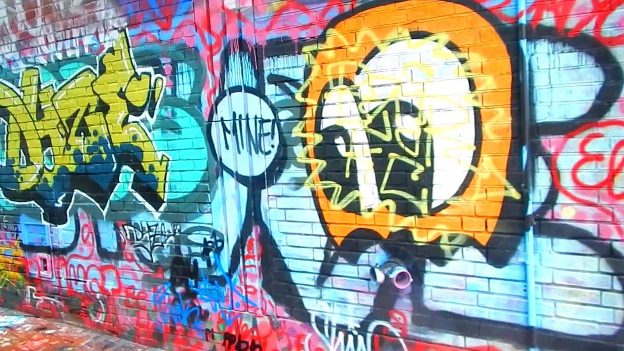 Graffiti wall cambridge ma - A Walk Through Modica Way Graffiti Alley In Cambridge Mass 05 07 2016