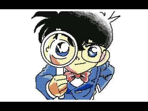 「名探偵コナン」イラスト描いてみた うごメモ3DS