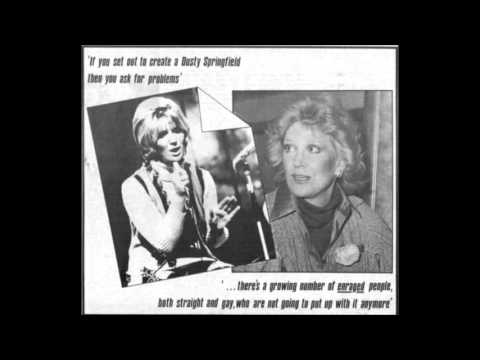 Dusty Springfield Long Lost Interview (Gay News 1978)