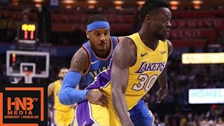 Los Angeles Lakers vs Oklahoma City Thunder Full Game Highlights / Jan 17 / 2017-18 NBA Season