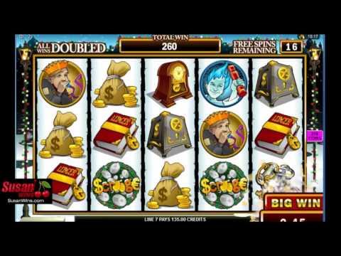 Gigantic £1005 Win - Free Games Bonus - Scrooge Online Slots Review