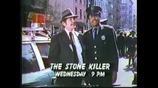 WOR tv (channel 9) The Stone Killer million dollar movie tv promo