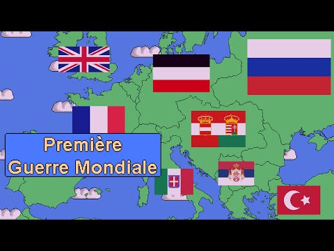 The First World War summarized in 5 minutes.