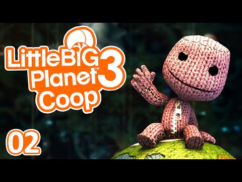 Little Big Planet 3   Ep.02 - Let's Play Coop