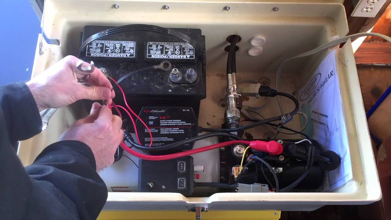 hight resolution of sunstream boat lifts how to install a battery