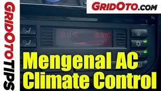 Mengenal AC Climate Control | How To | GridOto Tips