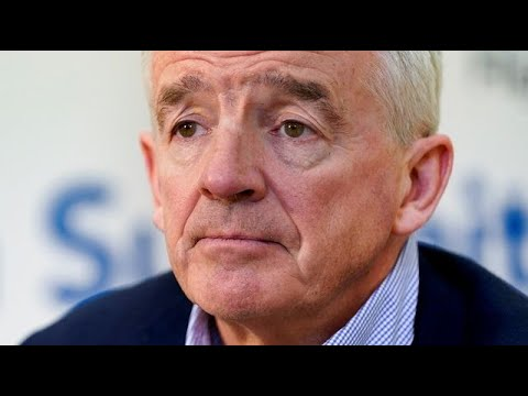 Ryanair's O'Leary Slams U.K.'s `Mismanagement' of Virus