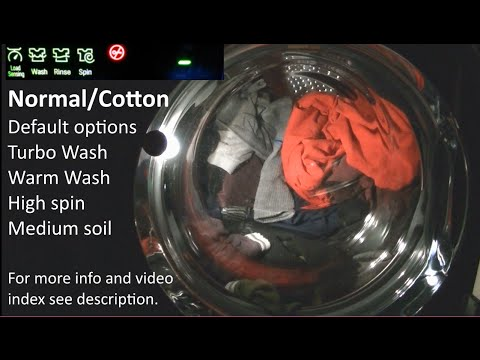 LG default Normal Cotton Cycle