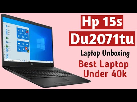HP HP 15 15s-du2071TU 15.6-inch Laptop (10th Gen i3-1005G1/8GB/1TB HDD/Windows 10 Home/