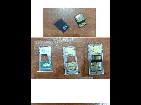 Chế Nanosim gắn vào thẻ nhớ Sdcard của điện thoại