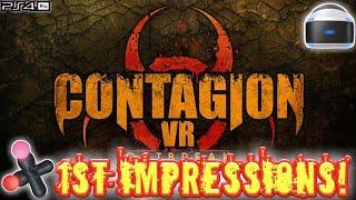 Contagion VR: Outbreak (PSVR/Pro) Live! 1st Impressions!!!
