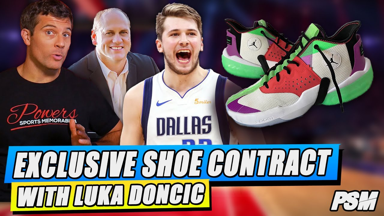 Luka Doncic's EXCLUSIVE Shoe Contract + Jordan's BANNED Shoes?! | INTERVIEW w Tone Stakes | PSM