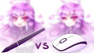 TABLET vs MOUSE | ART CHALLENGE