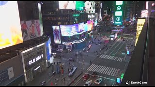 【LIVE CAM】Live from NYC's Times Square!! /  relaxing voice