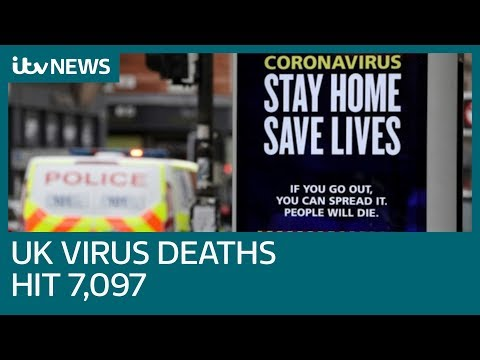 UK Coronavirus Death Toll Rises To 7,097 As Virus Cases Pass 60,000 | ITV News