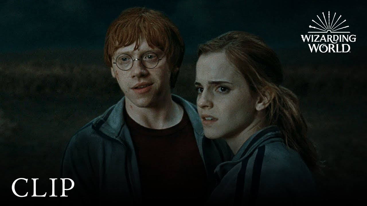 What s your favorite romantic moment between Ron and Hermione