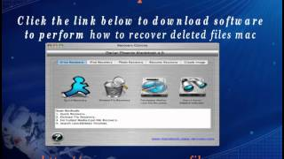 How to recover deleted files Mac with file recovery software