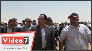 وزير الإسكان وكامل الوزير يتفقدان سير العمل بمشروع العاصمة الإدارية الجديدة