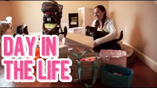 Baby Shower Aftermath, Errands, & Fun W/dogs | Day In The Life Of A Stay At Home Pregnant Wife Ditl