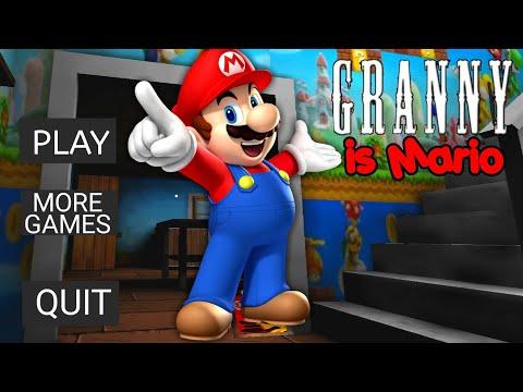 Granny Became Super Mario!
