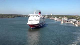 Viking Line Amorella, Mariehamn, Aland Islands