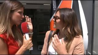 Francesca Michielin sulla Formula 1 in Austria