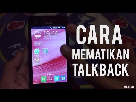 Cara Menonaktifkan Talkback Si bawel yang sulit disentuh. | How to disable talkback