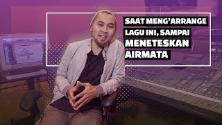 story of ray shareza meneteskan air mata saat arrange lagu