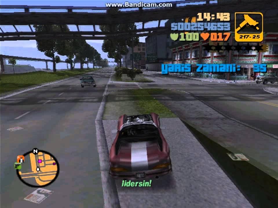 GTA 3 Görev #23 Yarış Mission #23 Turismo - YouTube