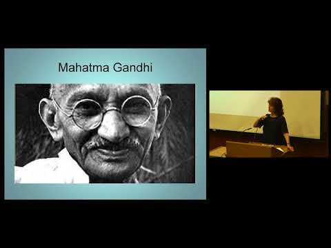 Gandhi's Influence on Contemporary Nonviolent Leaders - Jill Carr-Harris