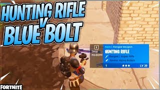 Hunting Rifle Over Bolt?!?- Fortnite Battle Royale Full Gameplay