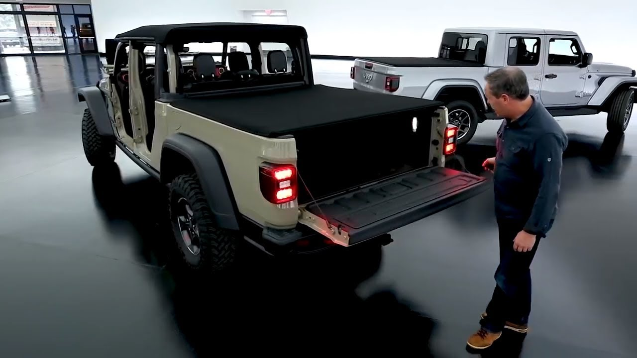 2020 Jeep Gladiator | Closer Look - YouTube